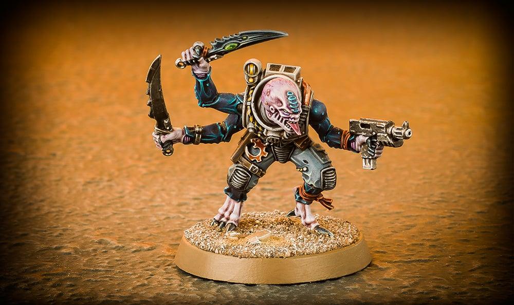 Paint Splatter Genestealers Warhammer Community