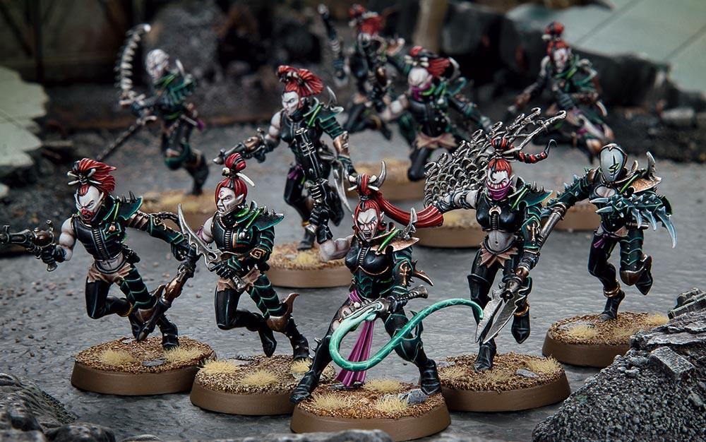 Warhammer 40000 Faction Focus Drukhari Warhammer Community