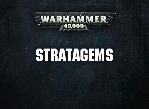 Image result for 40k stratagems