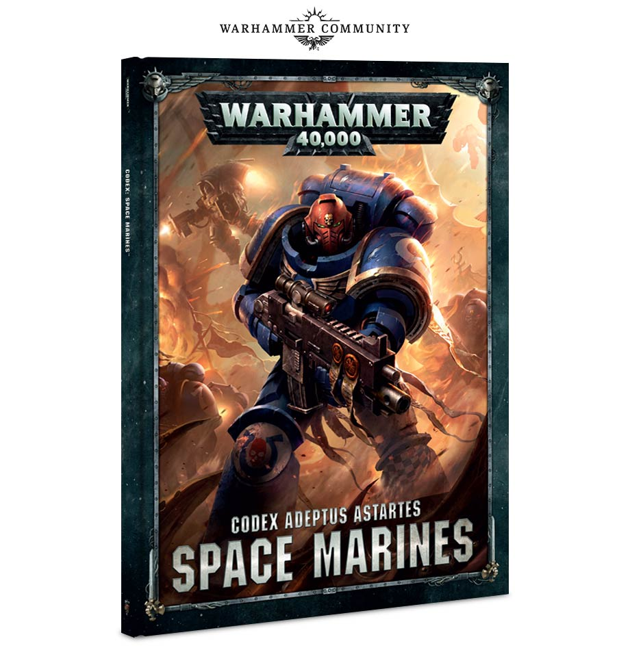 codex: space marines: your first look! – warhammer community