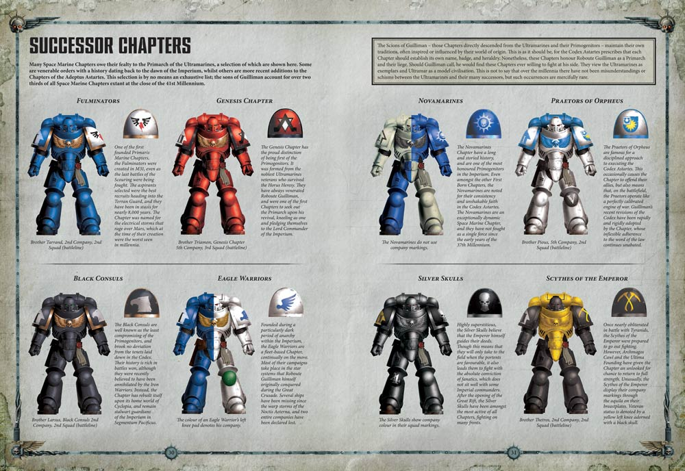 Codex Space Marines Your First Look Warhammer Community