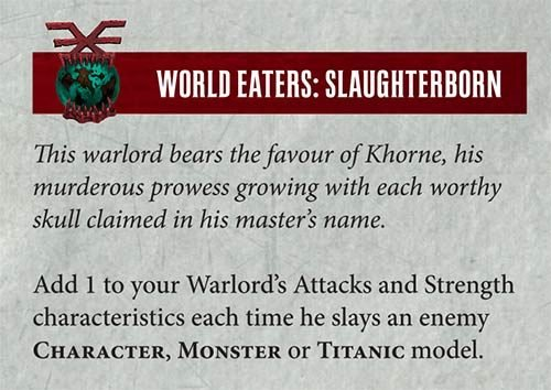 World eaters army rules for dating