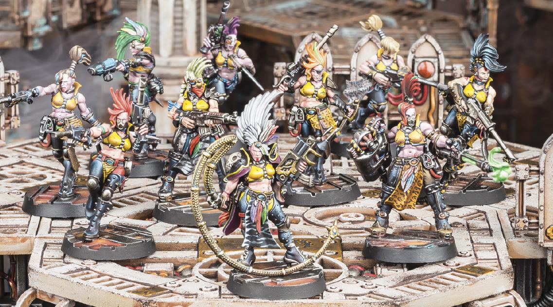 Necromunda is back !! Escher-gang