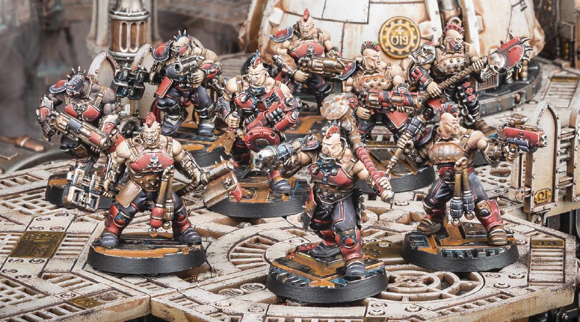 Necromunda is back !! Goliath-gang