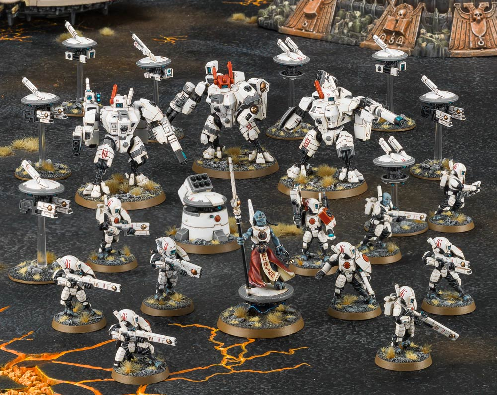 Factfile Battleforce Tau Empire Rapid Insertion Cadre Warhammer Battle Force Of Course With Four Kinds Battlesuit In Your Collection Youll Likely Want Some More And There Are Plenty Options On How To Proceed