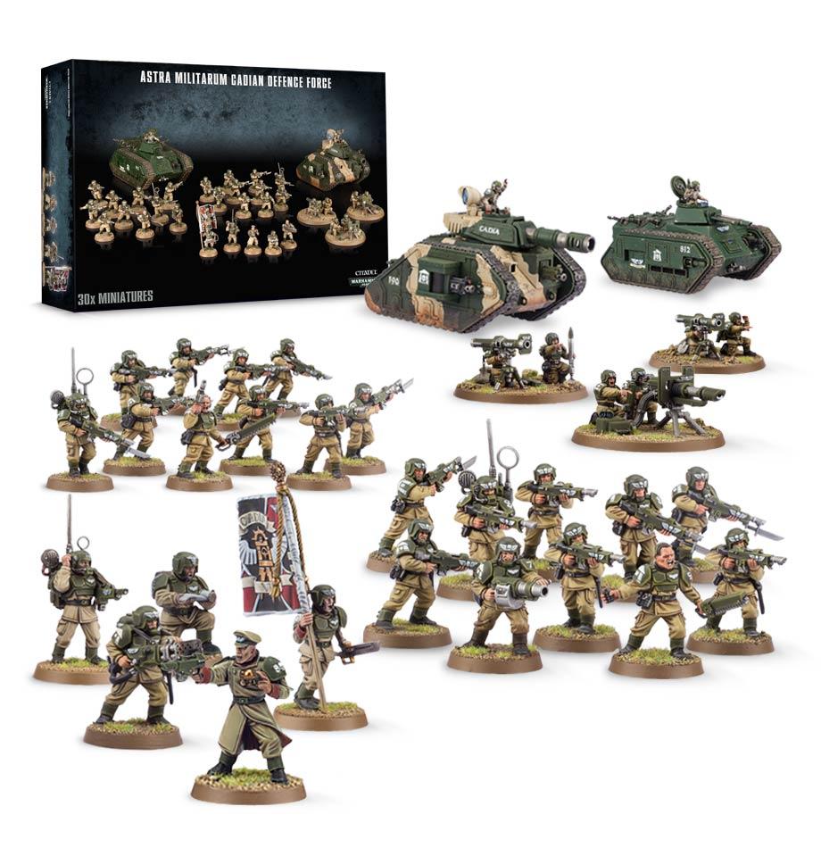 Factfile Battleforce Astra Militarum Battlegroup