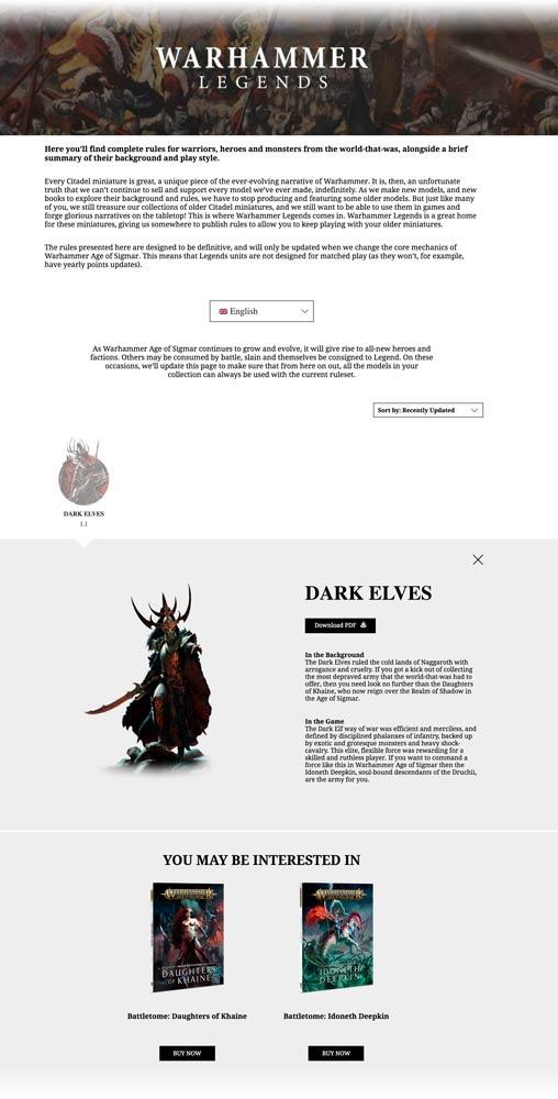 Warhammer Dark Elves Army Book Pdf