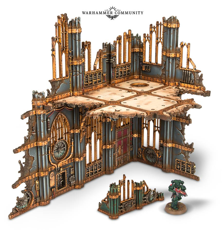 Sector Imperialis Terrain Analysis: What's in the box