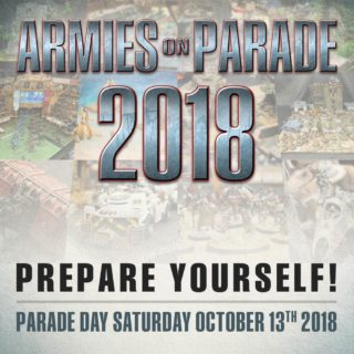 Armies on Parade - October 13th, 2018
