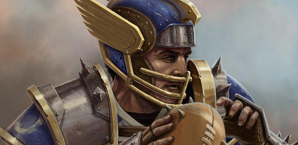 Griff Oberwald: the Man, the Legend, the Wingéd Helmet.