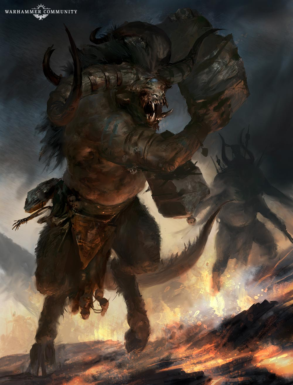 Taking the First Look into the Beasts of Chaos Battletome - Faeit ...