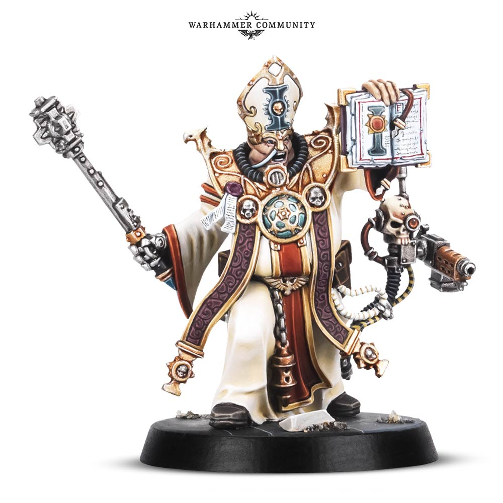 Blackstone Ministorum Priest : Warhammer40k