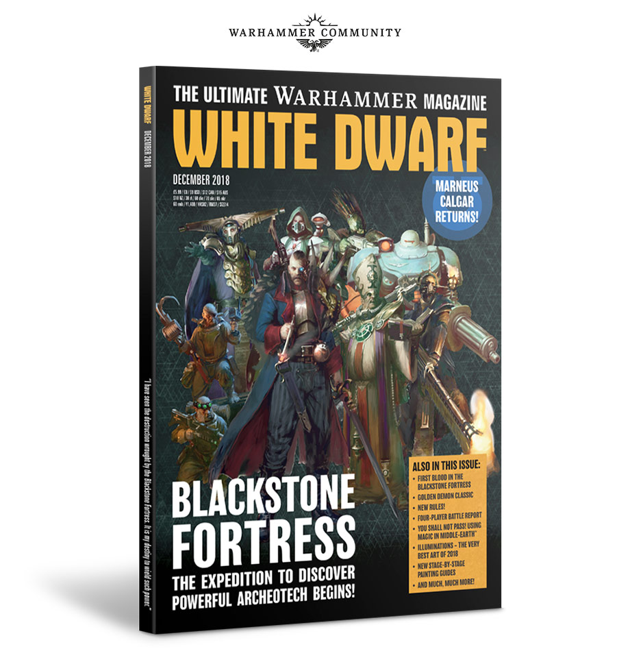 White Dwarf Preview – December's Issue – Warhammer Community