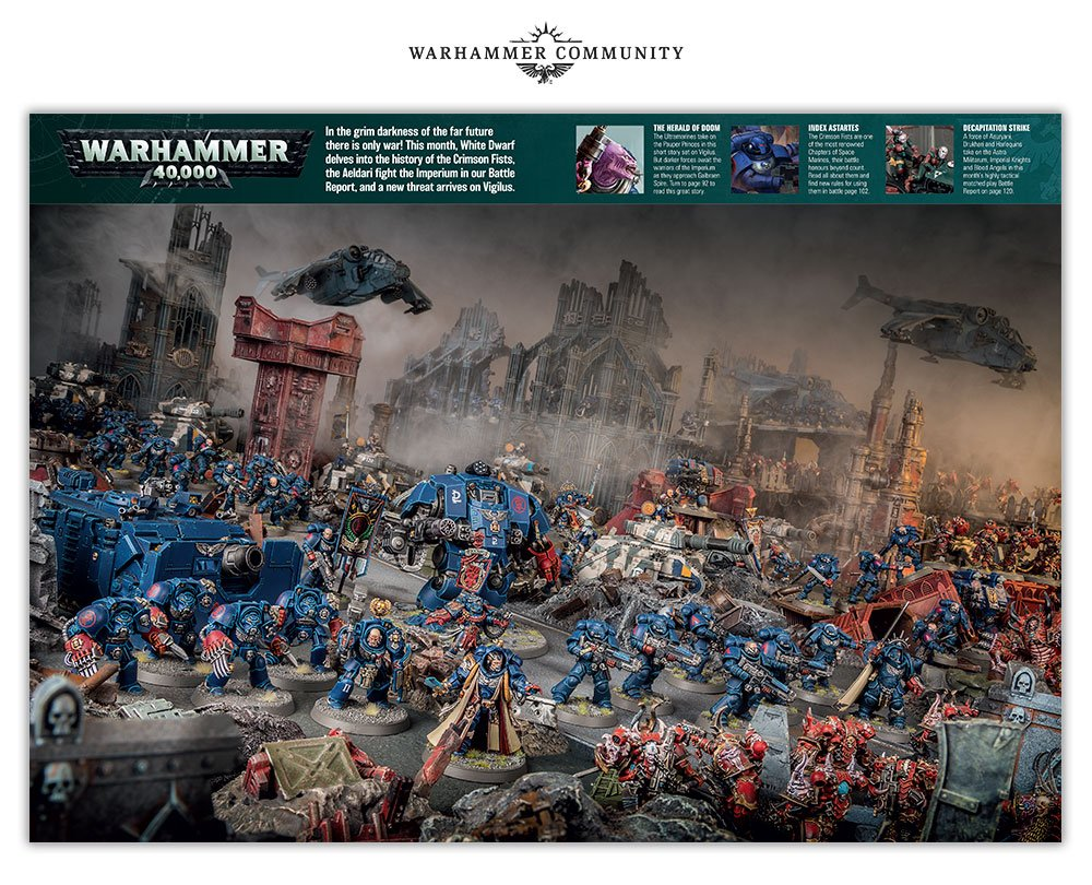 The New Evolved White Dwarf Faeit 212 Warhammer 40k News And Rumors
