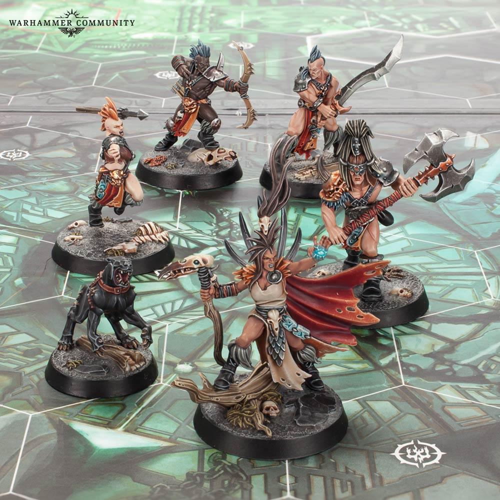Speelgoed en spellen W:U Nightvault Godsworn Hunt Shond Head-Claimer Bits Warhammer Fantasy Battle