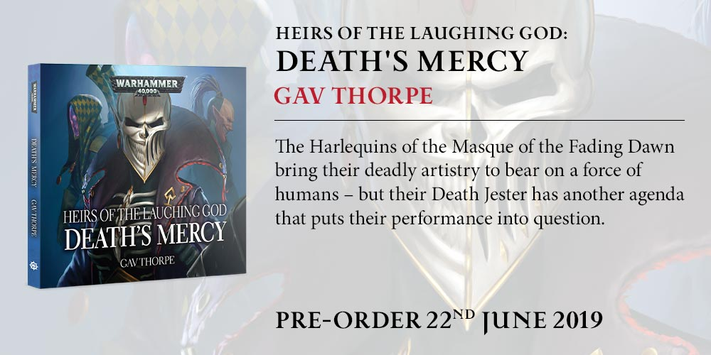 Programme des publications The Black Library 2019 - UK - Page 3 BLComingSoon-DeathsMercy8nvcje